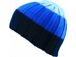Pánská čepice Novia N011 modrobílá