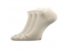 Společenské ponožky 3 kusy v balení Lonka Dyp béžová