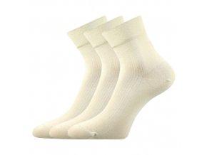oSpolečenské ponožky 3 kusy v balení Lonka Gazdan béžová