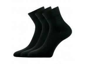 Společenské ponožky 3 kusy v balení Lonka Gazdan černá
