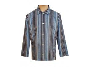 Pánský Pyžamový Kabátek Plátěný FOLTÝN PPK01