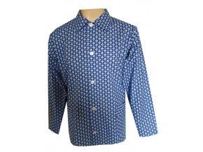 Pánský Pyžamový Kabátek Plátěný FOLTÝN PPK05