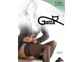 Punčochy samonosné GATTA Assel 01
