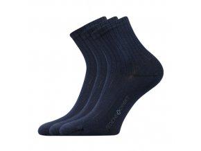 Zdravotní ponožky 3 kusy v balení Lonka Demedik tmavě modrá