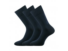Zdravotní ponožky 3 kusy v balení Lonka Desan tmavě modrá