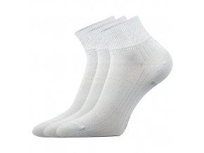 Bambusové ponožky 3 kusy v balení Lonka Raban světle šedá