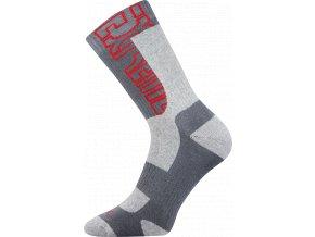 Sportovní Ponožky VoXX Matrix světle šedá
