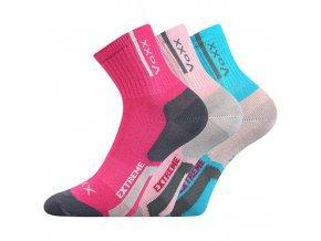 Dětské ponožky 3 kusy v balení VoXX Josífek mix dívčí