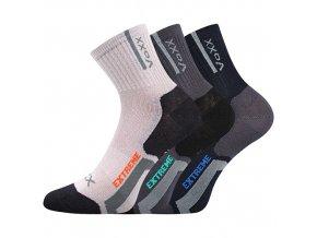 Dětské ponožky 3 kusy v balení VoXX Josífek mix chlapecké