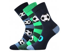 Dětské ponožky 3 kusy v balení VoXX Arnold mix světlé