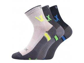 Dětské ponožky 3 kusy v balení VoXX Neoik mix vzorů B