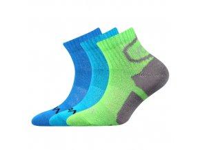 Dětské ponožky 3 kusy v balení VoXX Oskárek mix vzorů A