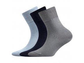 Dětské bavlněné ponožky 3 kusy v balení Boma Romsek chlapecké