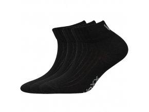 Dětské ponožky 3 kusy v balení VoXX Setra černé