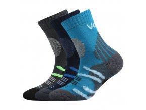 Dětské ponožky 3 kusy v balení VoXX Horalik mix b