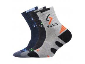 Dětské ponožky 3 kusy v balení VoXX Tronic mix chlapecké