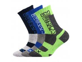o 149059Dětské ponožky 3 kusy v balení VoXX Matrix chlapecké