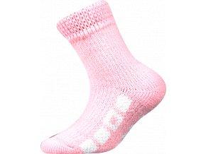 Dětské ponožky na spaní  Boma růžová