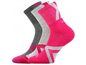 Dětské ponožky 3 kusy v balení VoXX Jeffik dívčíb