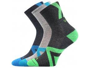 Dětské ponožky 3 kusy v balení VoXX Jeffik chlapecké