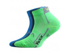 Dětské ponožky 3 kusy v balení VoXX Kaotik chlapecké