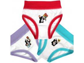 Dětské Spodní Kalhotky 3 kusy v balení Boma Krtek KR006 MixA