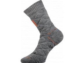 Sportovní Ponožky VoXX Force světle šedá