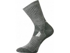 Sportovní ponožky VooX Stabil světle šedá