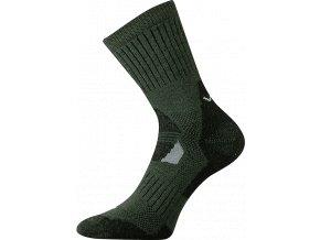 Sportovní ponožky VooX Stabil khaki