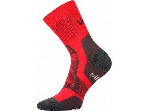 Sportovní ponožky VooX Granit červená