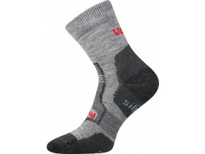 Sportovní ponožky VooX Granit světle šedá