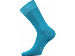 Společenské Ponožky Lonka Decolor tmavě tyrkysová