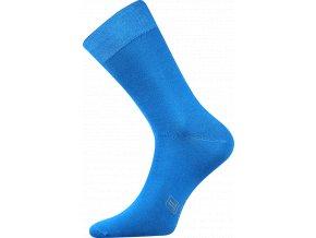 Společenské Ponožky Lonka Decolor středně modrá