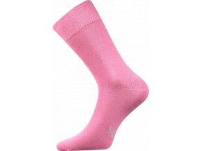 Společenské Ponožky Lonka Decolor růžová