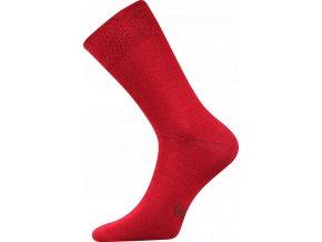 Společenské Ponožky Lonka Decolor vínová