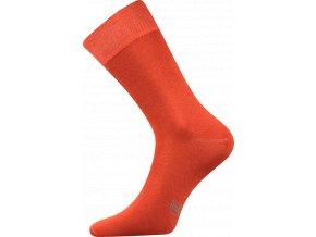 Společenské Ponožky Lonka Decolor rezavá
