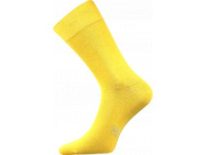 Společenské Ponožky Lonka Decolor žlutá