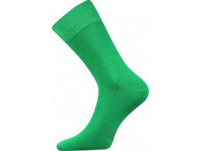 Společenské Ponožky Lonka Decolor zelená