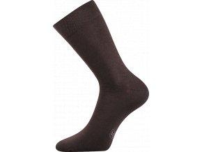 Společenské Ponožky Lonka Decolor hnědá