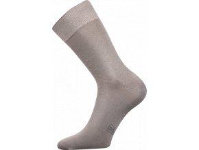 Společenské Ponožky Lonka Decolor světle šedá
