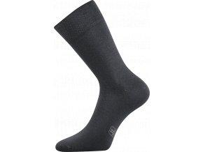 Společenské Ponožky Lonka Decolor tmavě šedá