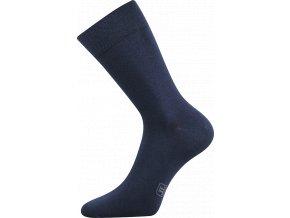 Společenské Ponožky Lonka Decolor tmavě modrá