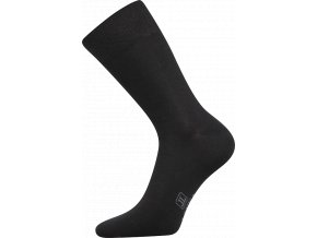 Společenské Ponožky Lonka Decolor černá