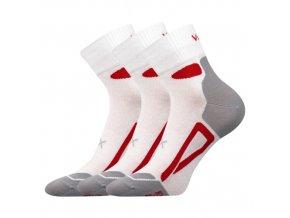 Ponožky VoXX Disc bílá 3 kusy v balení