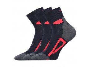 Ponožky VoXX Disc tmavě modrá 3 kusy v balení