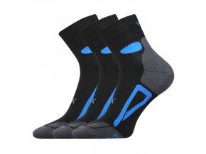 Ponožky VoXX Disc černá 3 kusy v balení
