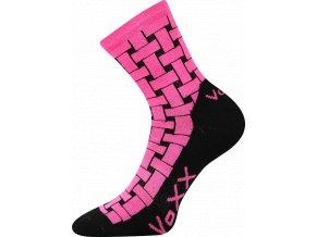 Sportovní Ponožky VoXX Jeff magenta