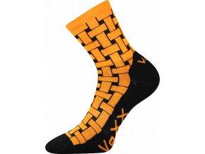 Sportovní Ponožky VoXX Jeff oranžová