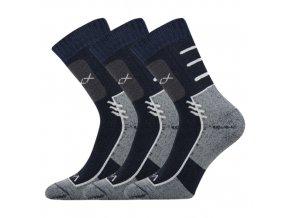 Sportovní Ponožky VoXX Limit tmavě modrá 3 kusy v balení