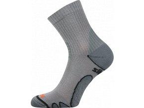 Ponožky VoXX Silo světle šedá